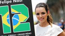 Grid Girls & Boys - GP Brasilien 2015
