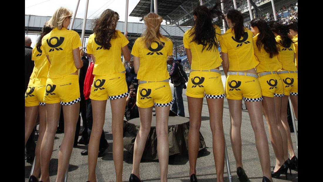 Grid Girls DTM Lausitzring 2011