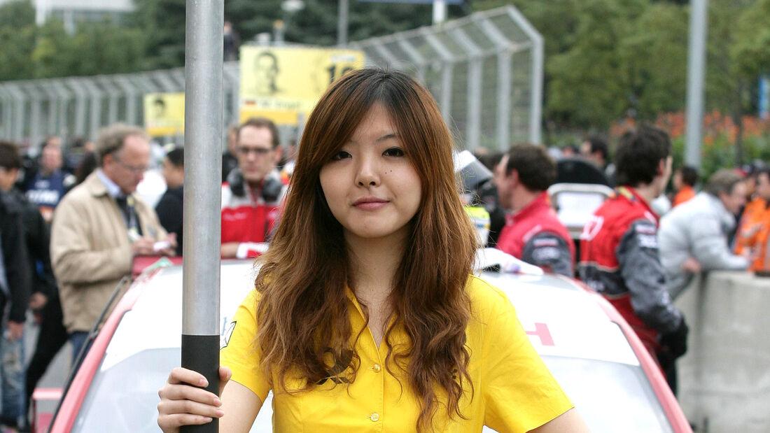 Grid Girls DTM Shanghai 2010