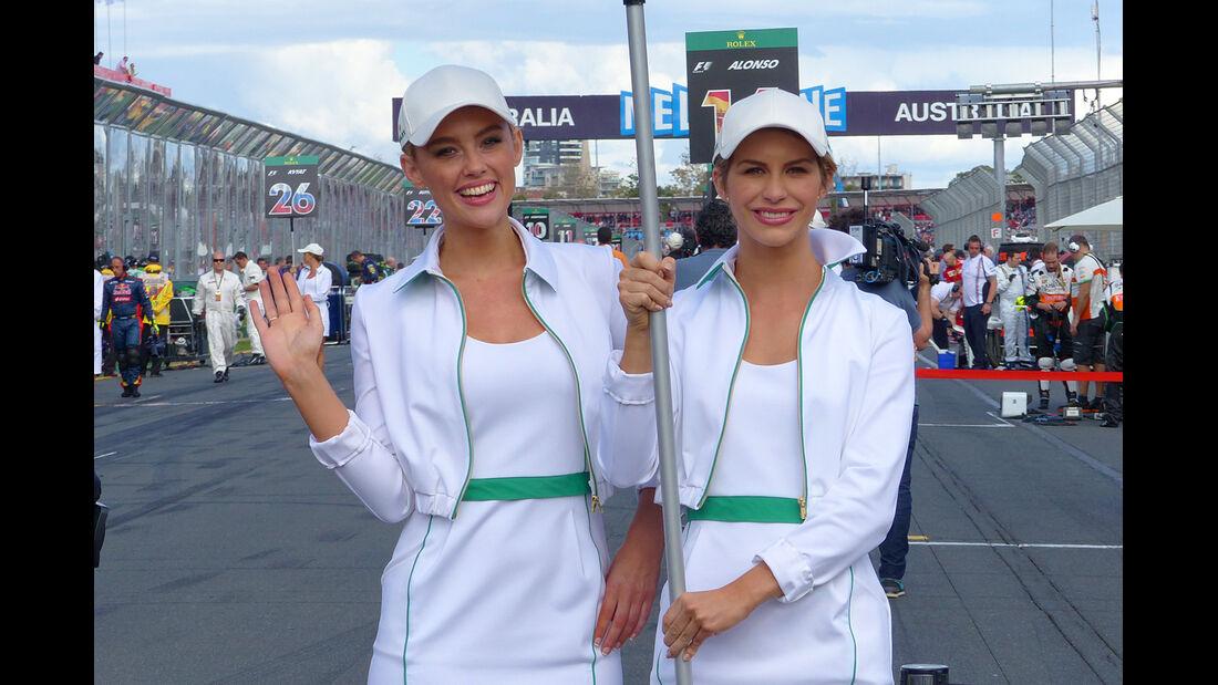 Grid Girls - Formel 1 - GP Australien 2014