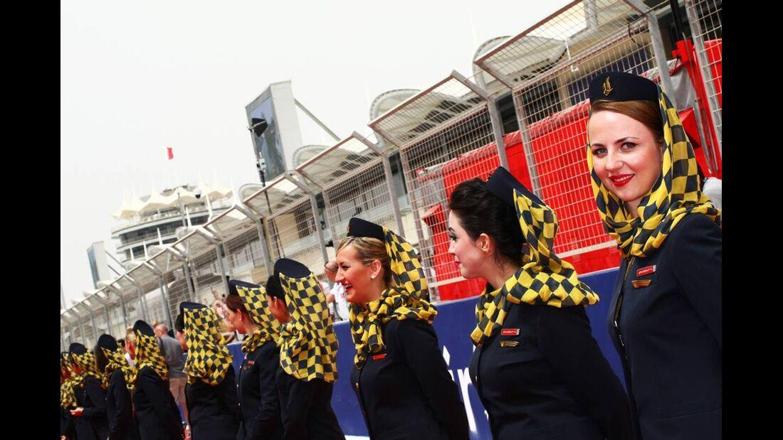 Grid Girls  - Formel 1 - GP Bahrain - 22. April 2012