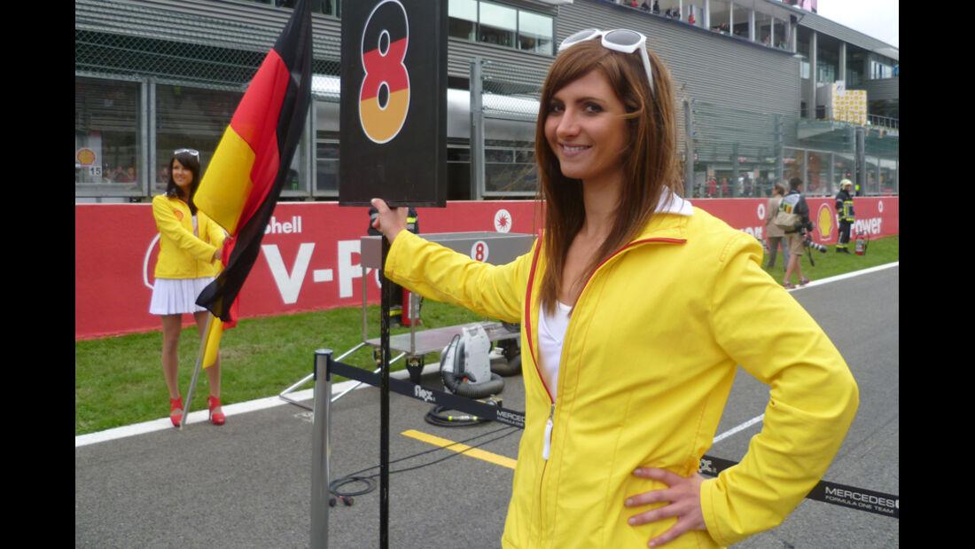 Grid Girl Formel 1