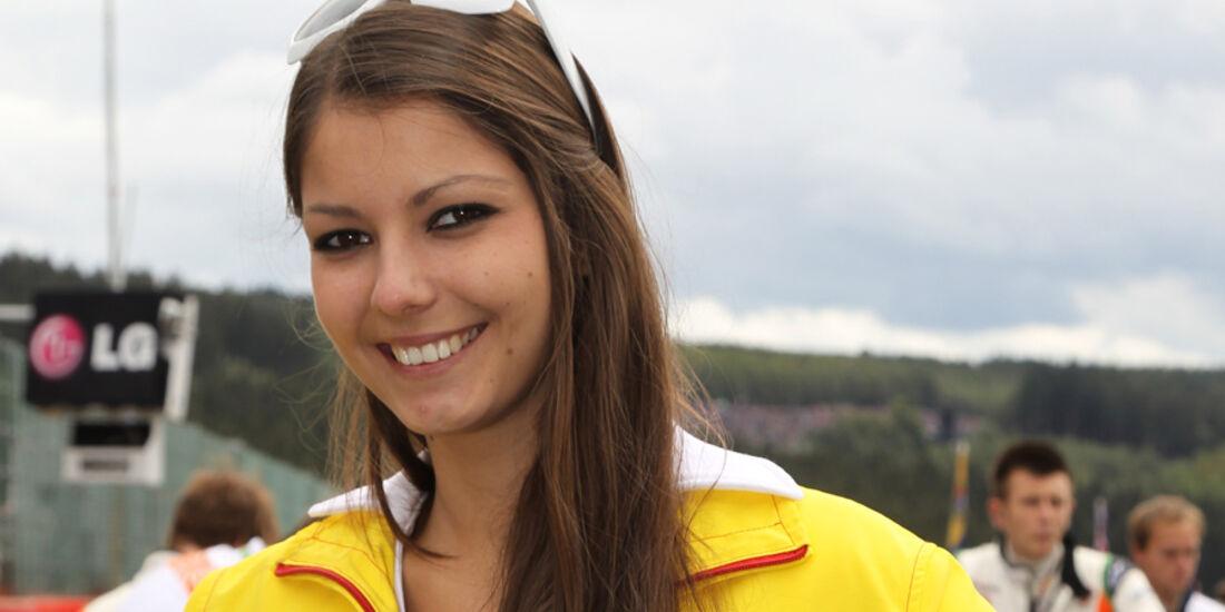 Grid Girls - Formel 1 - GP Belgien 2011