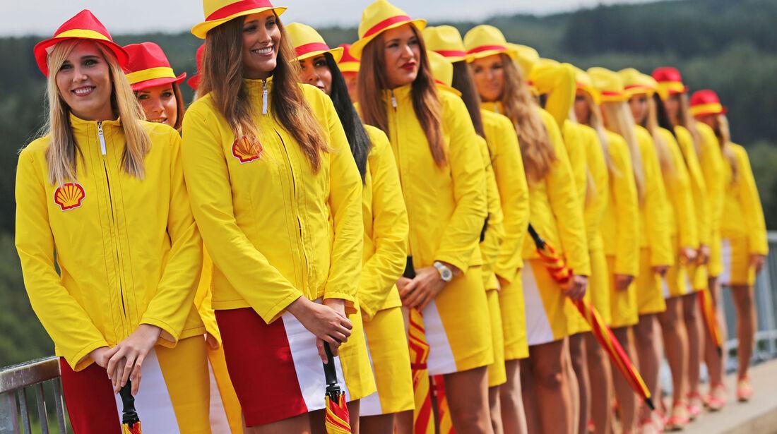 Grid Girls - Formel 1 - GP Belgien - Spa-Francorchamps - 23. November 2014
