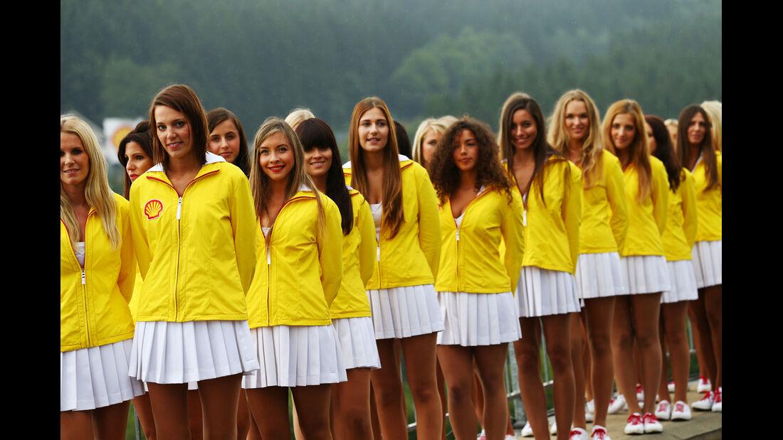Grid Girls - Formel 1 - GP Belgien - Spa-Francorchamps - 24. August