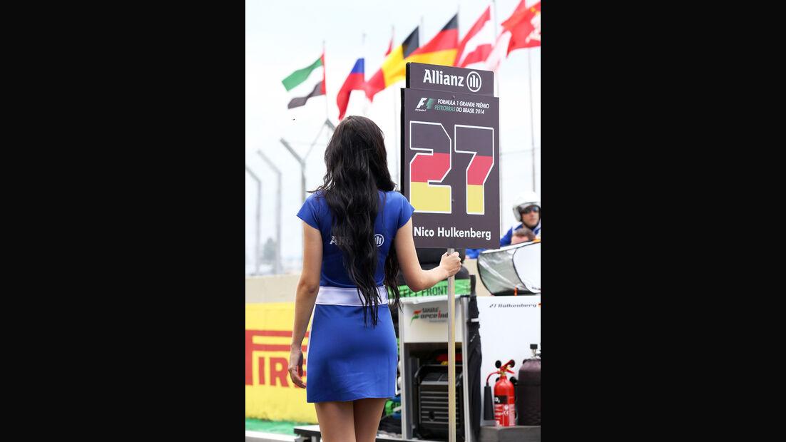 Grid Girls - Formel 1 - GP Brasilien 2014
