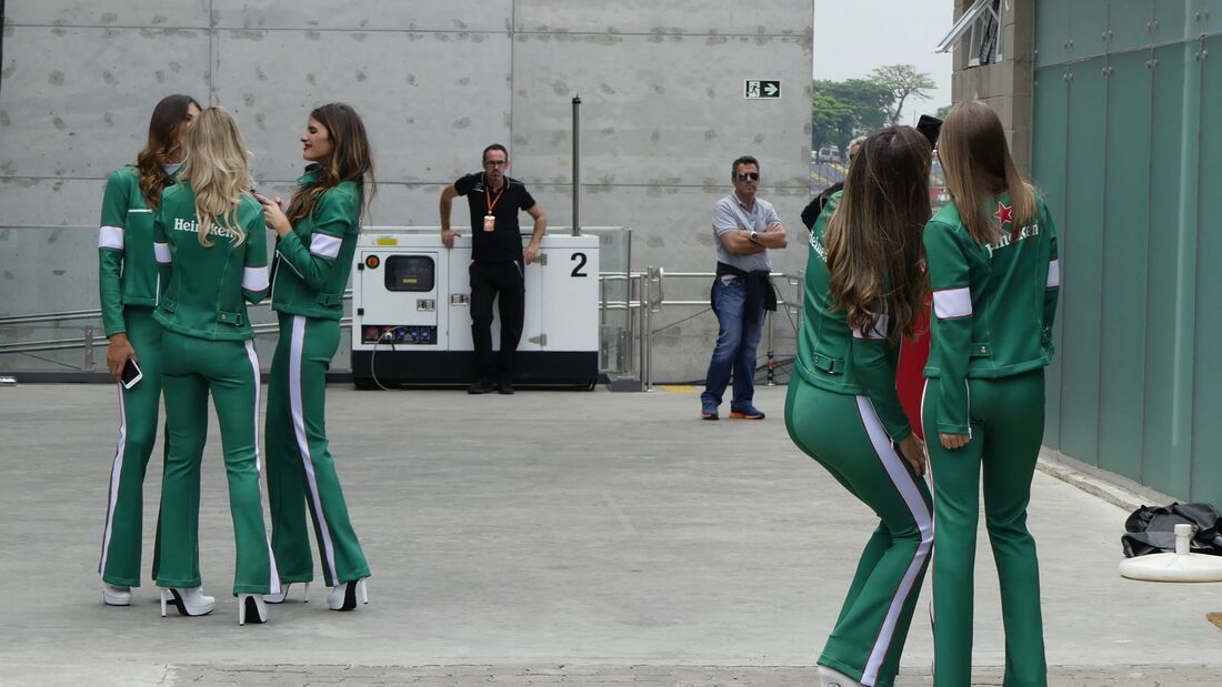 Grid Girls - Formel 1 - GP Brasilien - 8. November 2017