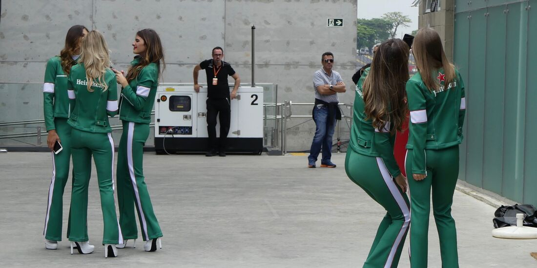Grid Girls - Formel 1 - GP Brasilien - 8. November 2017