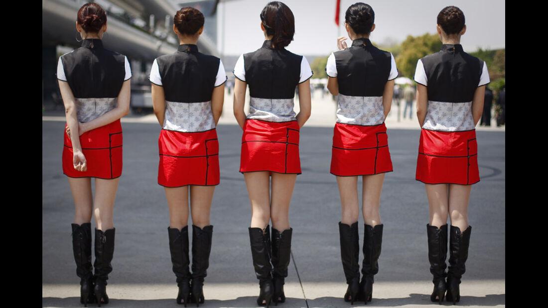 Grid Girls Formel 1 GP China 2011