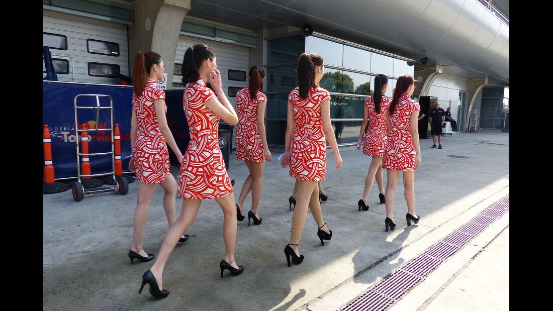 Grid Girls - Formel 1 - GP China - Shanghai - 11. April 2015