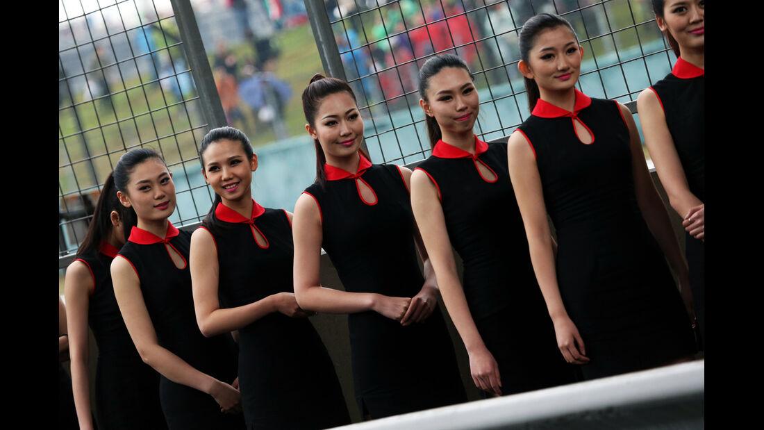 Grid Girls - Formel 1 - GP China - Shanghai - 19. April 2014