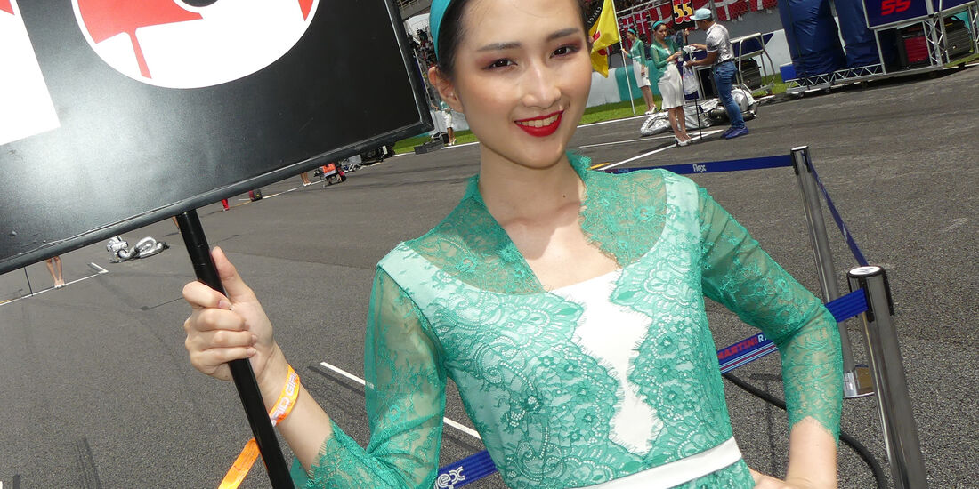 Grid Girls - Formel 1 - GP Malaysia 2017