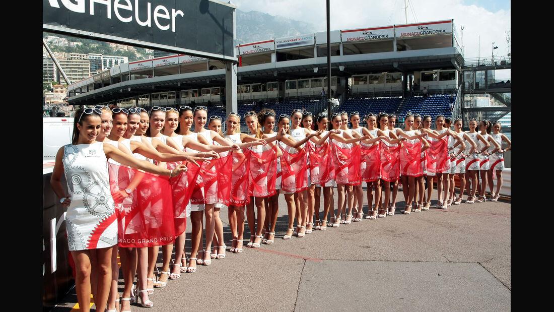 Grid Girls - Formel 1 - GP Monaco 2014