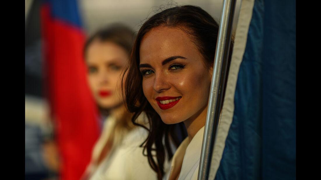 Grid Girls - Formel 1 - GP Russland 2017