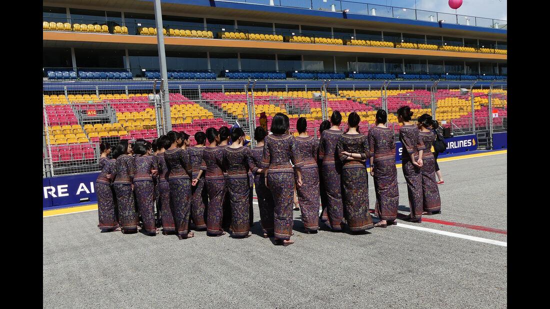 Grid Girls - Formel 1 - GP Singapur - 15. Septemberg 2016