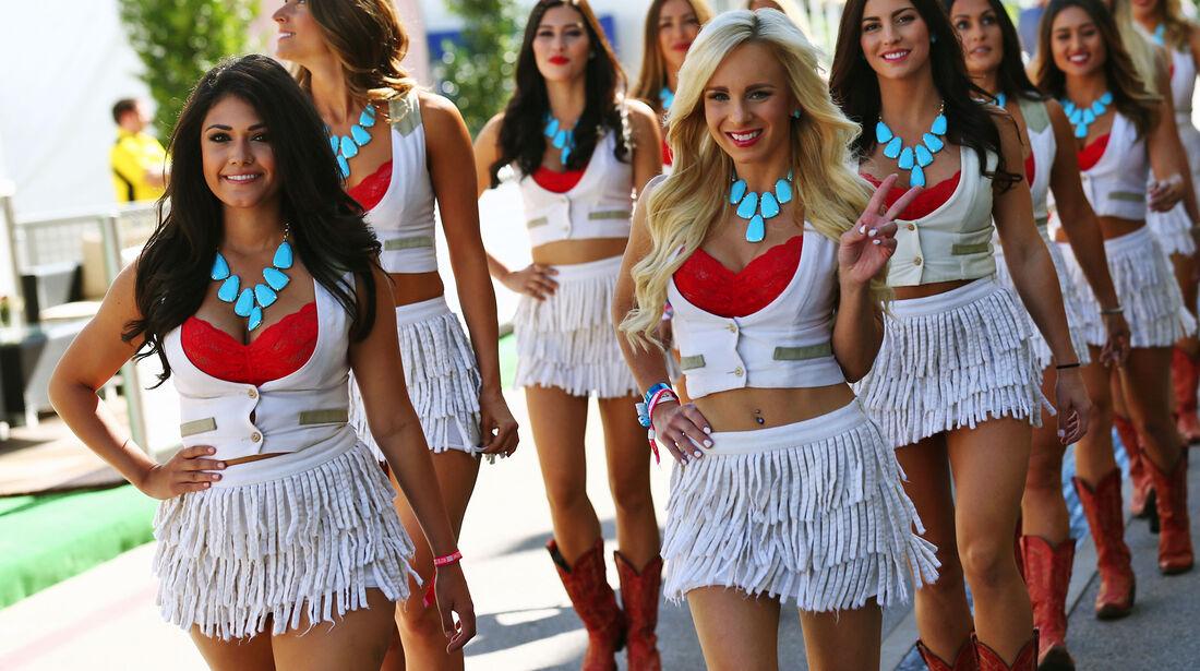 Grid Girls - Formel 1 - GP USA - Austin - 2016