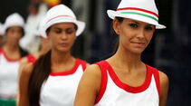 Grid Girls - Formel 1 - GP Ungarn 2013