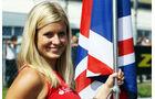 Grid Girls Formel 1 Monza GP Italien 2012
