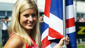 Grid Girls Formel 1 Monza GP Italien 2012