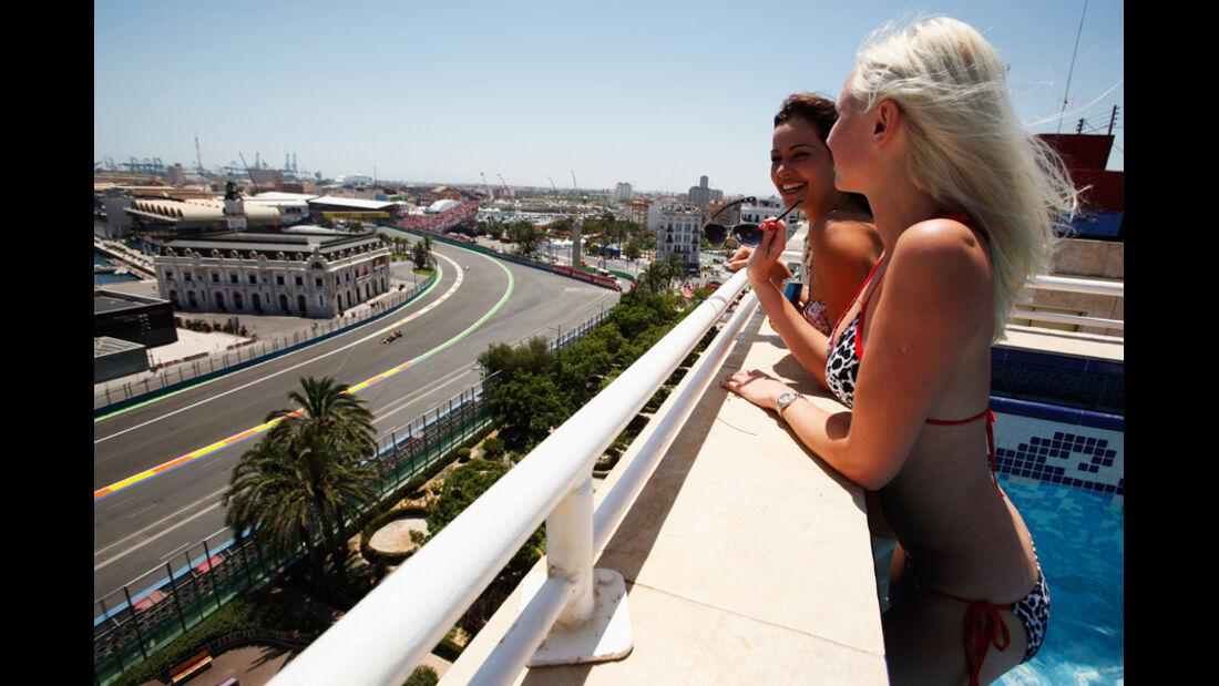 Grid Girls Formel 1 Valencia 2011
