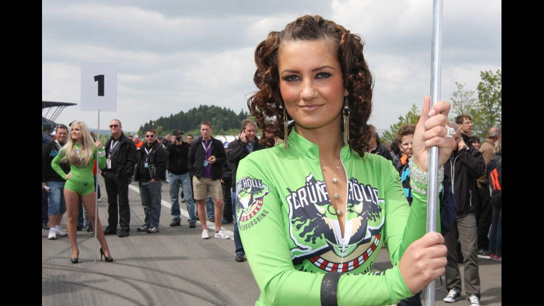 Grid Girls, Frauen, VLN, Langstreckenmeisterschaft, Nürburgring