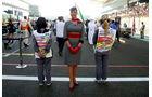 Grid Girls GP Abu Dhabi 2011