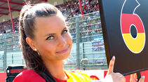 Grid Girls - GP Belgien 2015