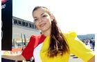 Grid Girls - GP Belgien 2015