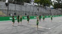 Grid Girls - GP Brasilien 2016 - Sao Paulo - Interlagos - Mittwoch - 9.11.2016