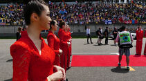 Grid Girls - GP China 2016