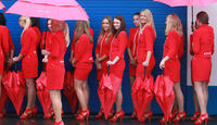 Grid Girls - GP Deutschland 2011 - Nürburgring