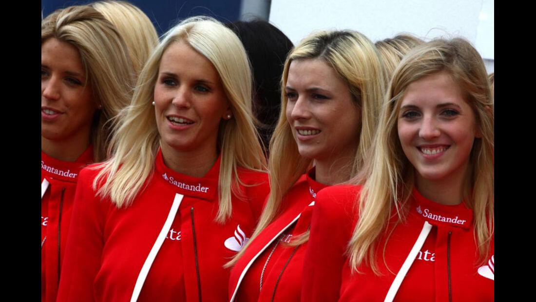 Grid Girls - GP Deutschland - Nürburgring - 23. Juli 2011