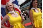 Grid Girls - GP England - Silverstone - Rennen - Sonntag - 5.7.2015