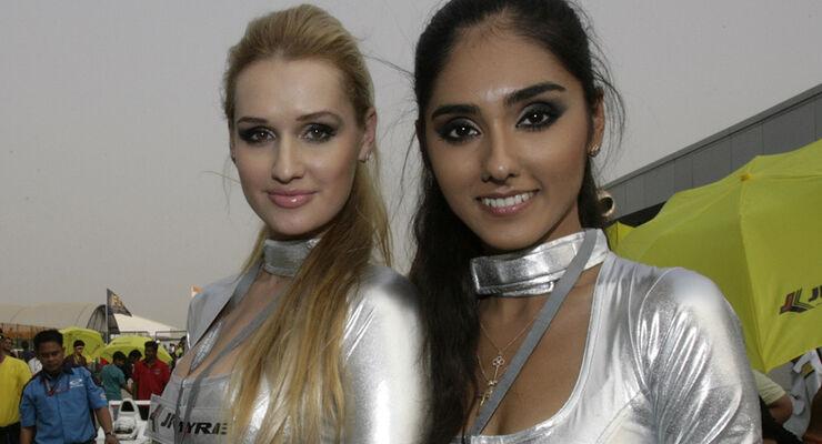 Grid Girls - GP Indien 2011