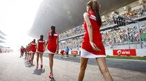 Grid Girls - GP Indien 2013