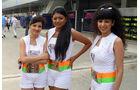 Grid Girls - GP Indien 2018