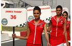 Grid Girls - GP Indien 2033
