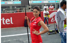 Grid Girls - GP Indien 2045