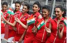 Grid Girls - GP Indien 2058