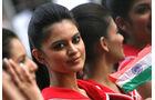 Grid Girls - GP Indien 2061
