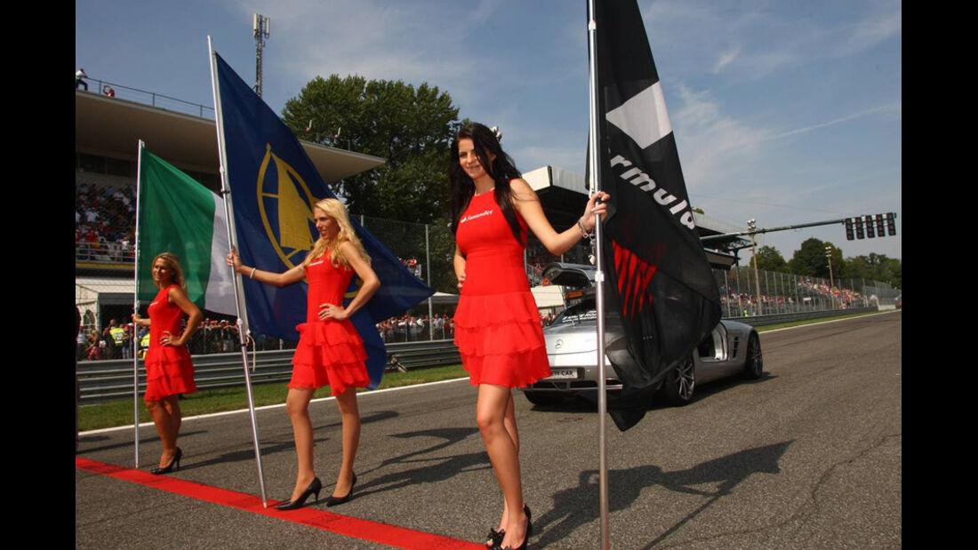 Grid Girls GP Italien 2010