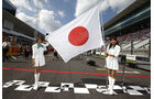 Grid Girls - GP Japan 2015
