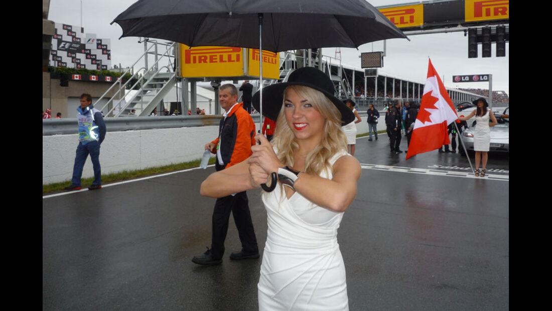 Grid Girls GP Kanada 2011