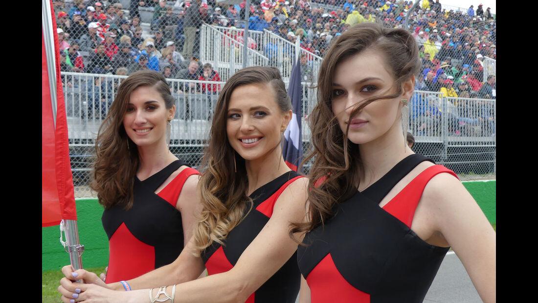 Grid Girls - GP Kanada 2016 - Montreal