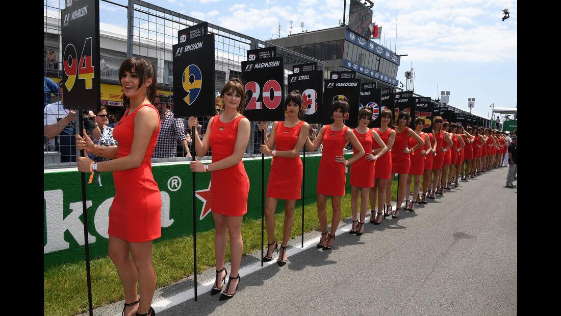 Grid Girls - GP Kanada 2017 - Montreal