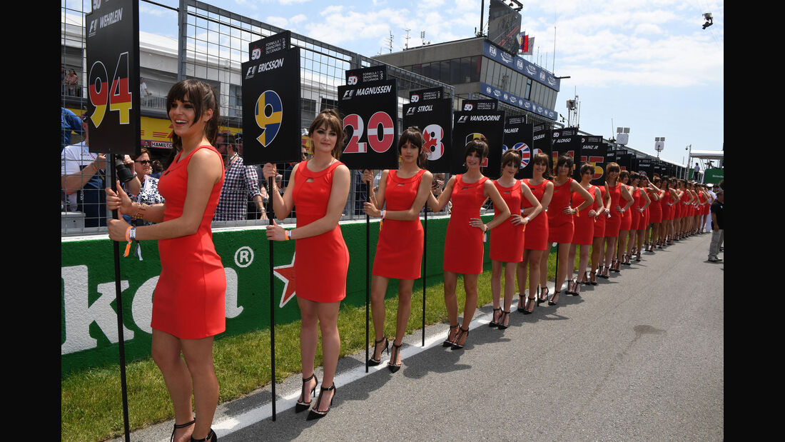 Grid Girls - GP Kanada 2017 - Montreal