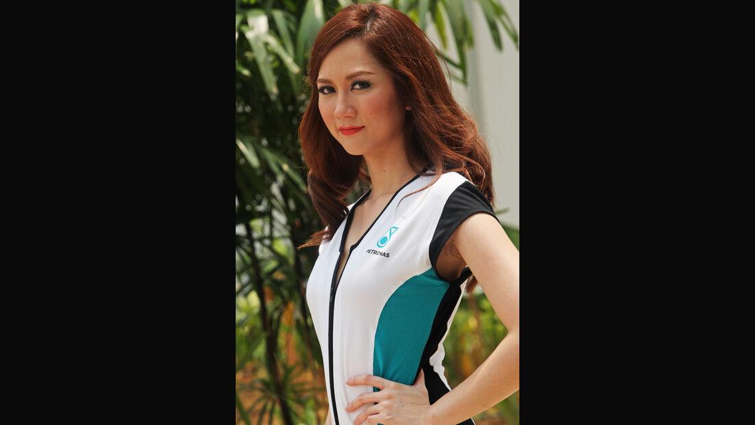 Grid Girls - GP Malaysia 2014 - Formel 21