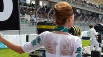 Grid Girls - GP Malaysia 2014 - Formel 3