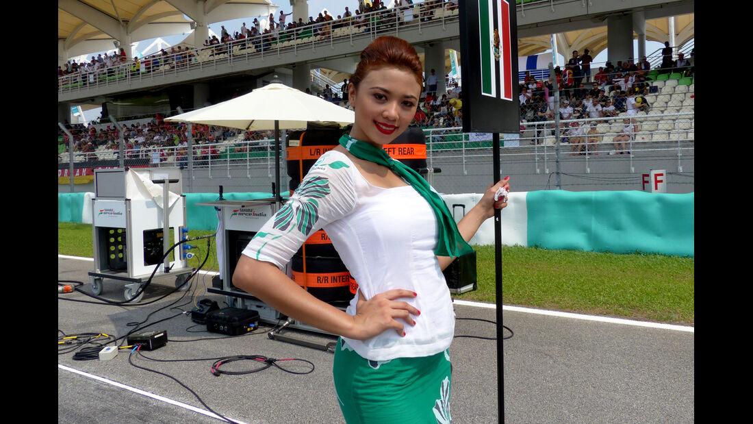 Grid Girls - GP Malaysia 2014 - Formel 37