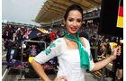 Grid Girls - GP Malaysia 2014 - Formel 39